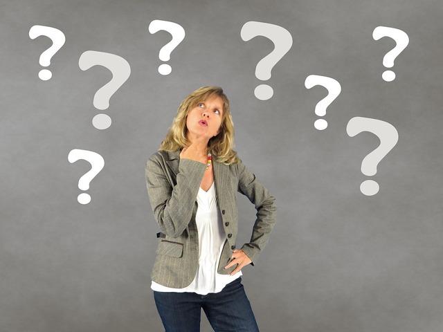 無料の写真: 女性, 疑問符, 人, 意思決定, 思いやりのある - Pixabayの無料画像 - 687560