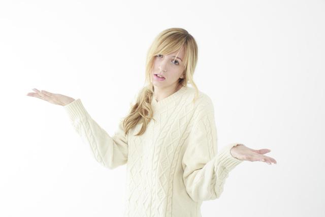 [フリー写真] お手上げの外国人女性 -  GATAG|フリー素材集 壱