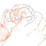 私の手を握り、その手をさすりながら、「心残りだったんだ、良かった!会えて良かった!」