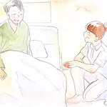 患者さんが初めて見せた涙・・・『俺はこの病気になって後悔してないよ。みんなに良くしてもらって幸せだと思う。本当にみんなには感謝してる。ありがとう。』