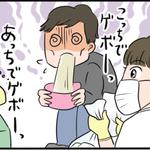 現役看護師が描くリアルすぎる4コマ漫画【今年も胃腸炎の季節がやってきました編】