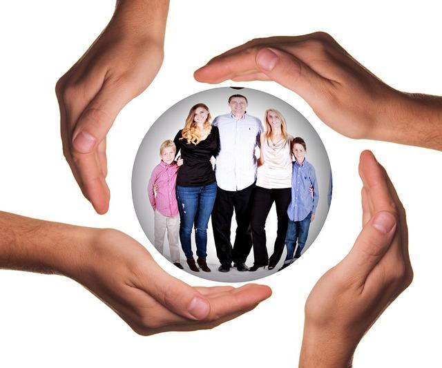 無償のイラストレーション: 手, 保護, 父, 家族, 子, 母, 女の子, グループ, 心理学 - Pixabayの無料画像 - 598146