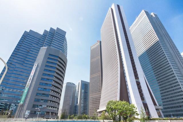新宿の高層ビル フリー写真素材・無料ダウンロード-ぱくたそ