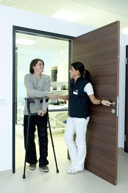 Free stock photo: Crutches, Ill, Injured, Hospital - Free Image on Pixabay - 538883