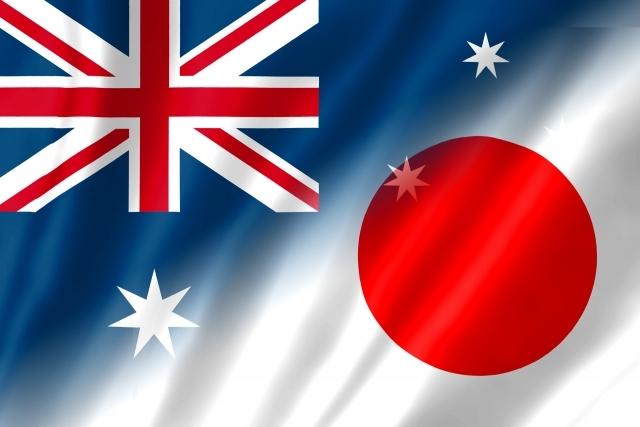 日本オーストラリア国旗|写真素材なら「写真AC」無料(フリー)ダウンロードOK