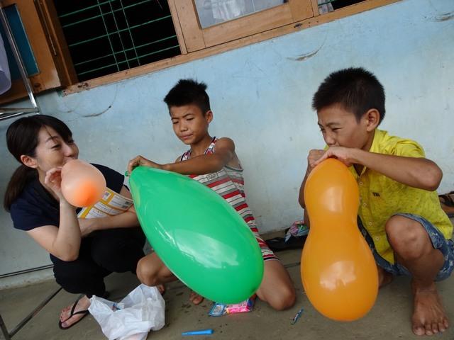 養育施設でのボランティア