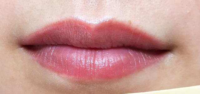 唇の色を自然に発色よくさせることもできる