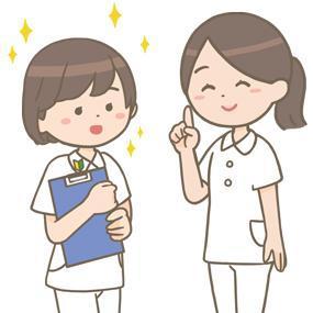 新人看護師を指導する看護師のイラスト🎨【フリー素材】 看護roo![カンゴルー]